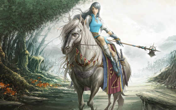 fantasy, воин, фэнтези