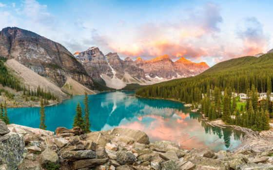 природа, красоте, своей, всей, гора,