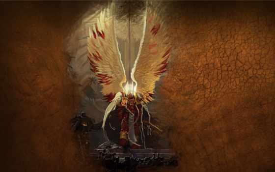 warhammer, кровавые, total, war, art, святая, космические, десанты, ангелы, кровь, angels,