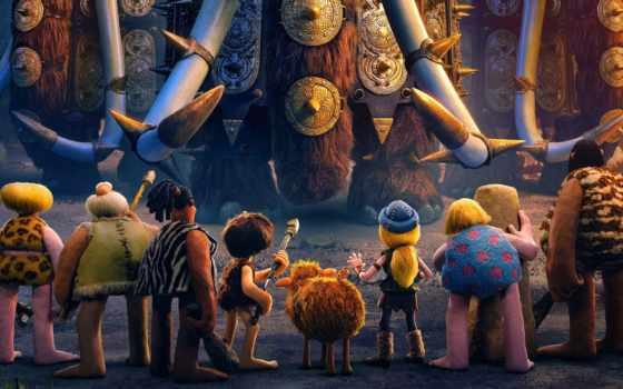 мужчина, new, рассвет, анимация, age, племя, early, aardman,