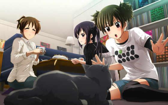 anime, nakano, уи