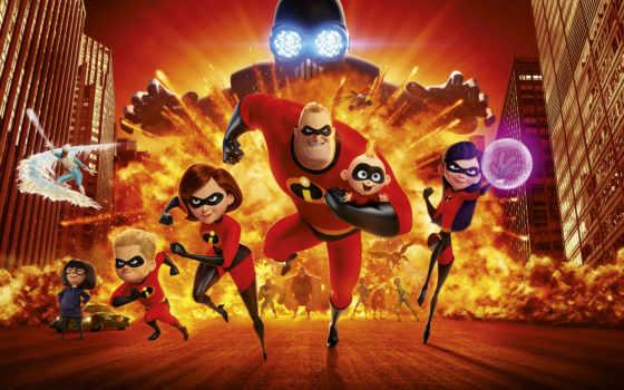 incredibles, pixar, сегодня,