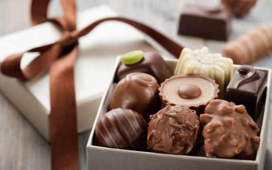 sweets, шоколадные, chocolate, box, конфеты, candy,