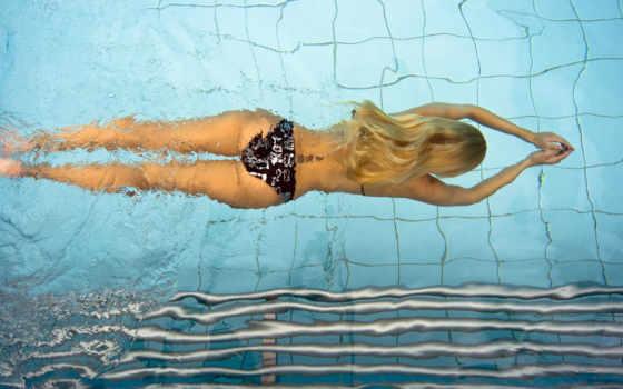 бассейне, swimming, swim, плавания, похудения, использование, бассейн, позвоночника,
