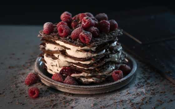 , торт, малина, postre, plantilla,