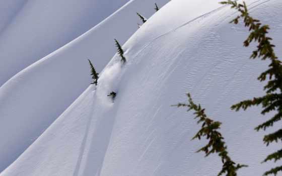 сноуборд, снег Фон № 19165 разрешение 1920x1080