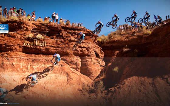 байк, маунтин, скорость, полет, спорт, bull, red, mountain, велосипед, desktop, picsfab,