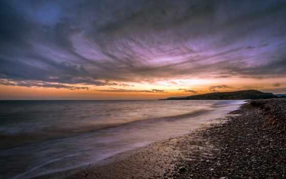кипр, закат, море
