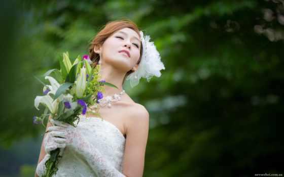 невеста, свадебный, вектор