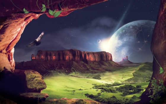 fantasy, landscape, free