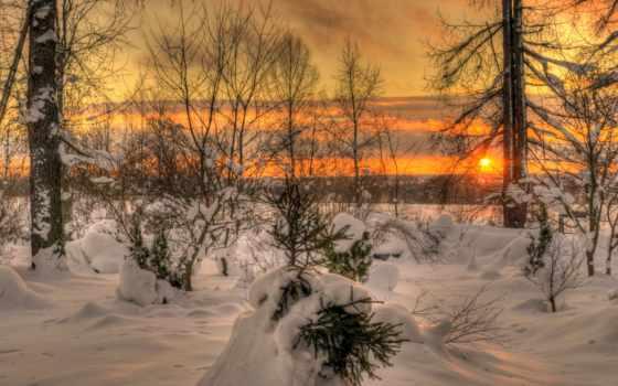 закат, winter, обсуждение