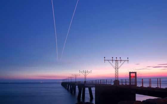 море, мост, photography, travel, картинка, кросс, views, landscape,