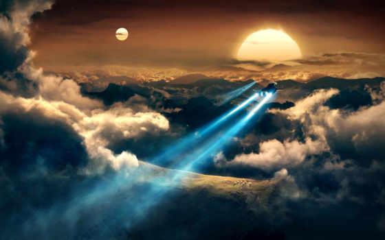 planet, космос, fantasy, траектория, art, космические, звезды, корабли,