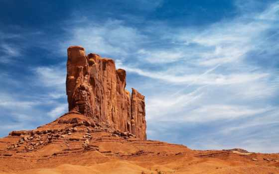 пустыня, небо, каньон, rock, сша,