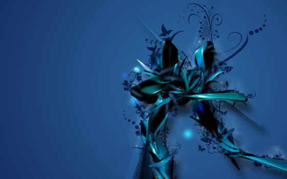 blue, бабочка, вектор
