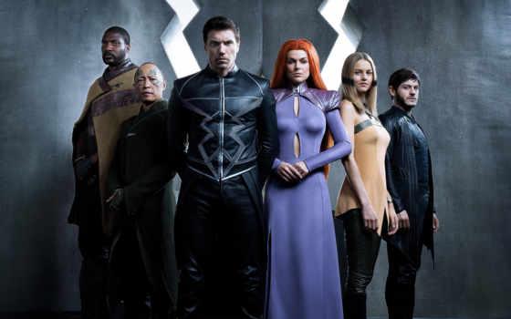 inhumans, marvel, new, abc, серия, imax, впервые, royal, семья,