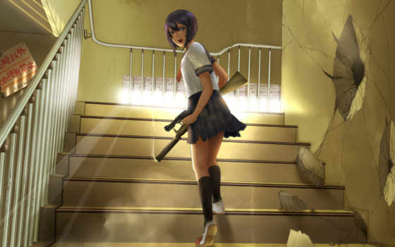 аниме, оружие