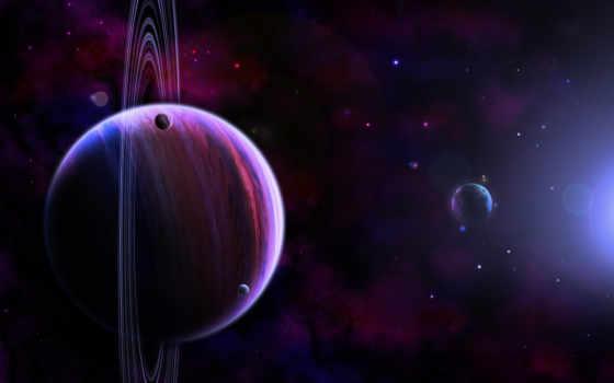 космос, rings