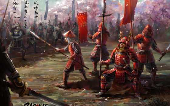 самураи, оружие