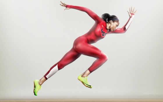 трек, бег, олимпийский, nike, феликс, allyson, девушка, olympics, спортсменка,