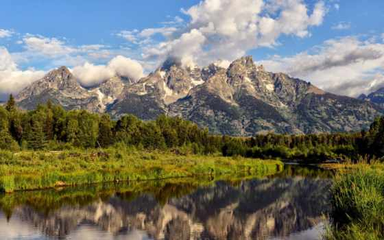 grand, teton, tetons, desktop, wallpapersafari, share, компьютер, national,