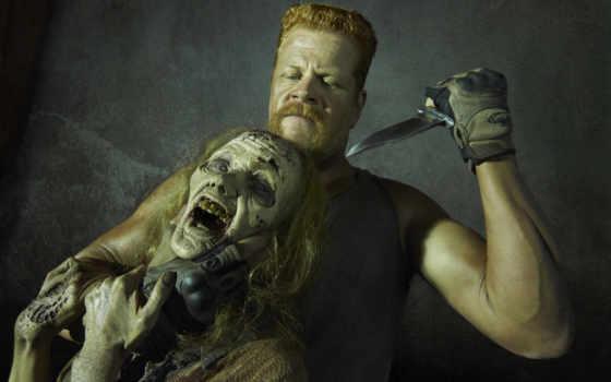 ходячие, мертвецы, dead, выгул, кудлиц, michael, cudlitz, зомби, abraham, актер,