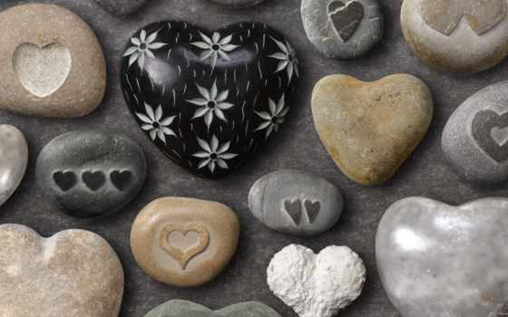 summer, love, сердечки, морские, камушки, рисунок, positive, форма,