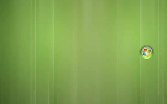 windows - light green desktop