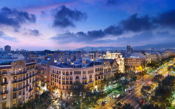 город, барселона, города, испания, барселоны, старый, барселоне, улица, испании, барселону, коста,