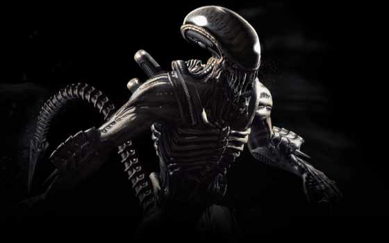 kombat, mortal, alien