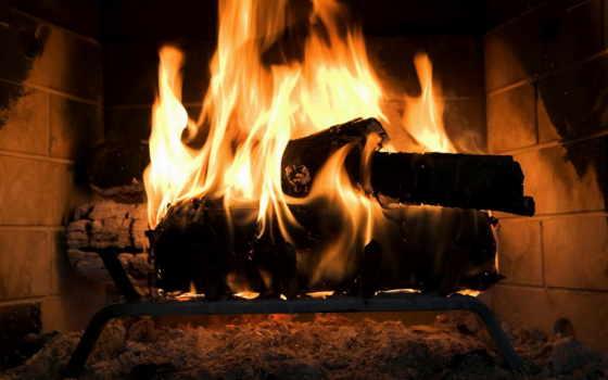 огонь, дрова, картинка, дерево, wood,
