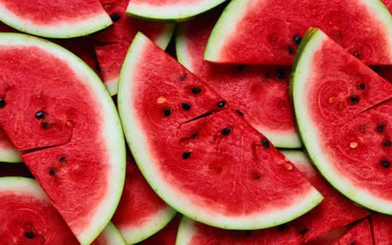 summer, арбузы, дек, ломтики, напитки, еда, арбуз, ягоды,