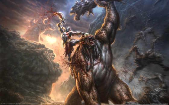 god, war, войны, kratos, iii, creator,