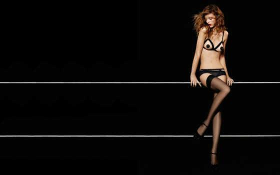 lucini, flavia, brazilian, модель, черный, чулки, коллекция, секси,