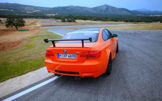bmw, gts, эр, оранжевый, cars,