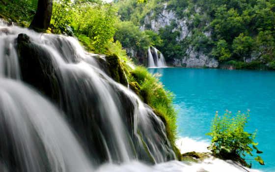 водопад, плитвицкие, national