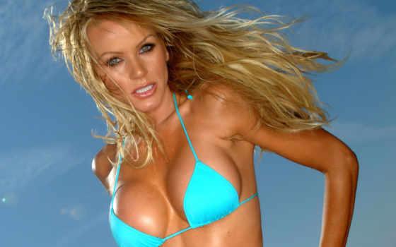 девушка, голубом, купальнике, купальник, моря, заставки, world, супер, hot, мар,