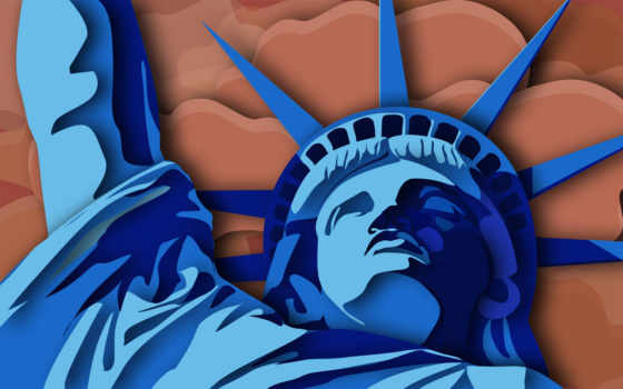 statue, liberty