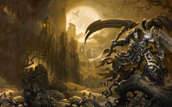 darksiders, игры, смерть