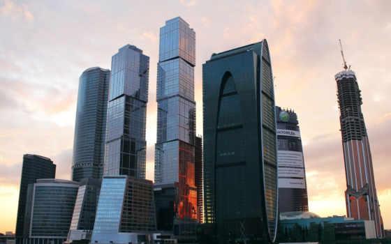 москва, город, россия, business,