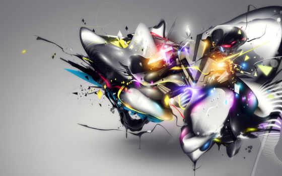 абстракция, заставки, фоновые