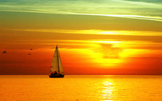 море, яхта, sail