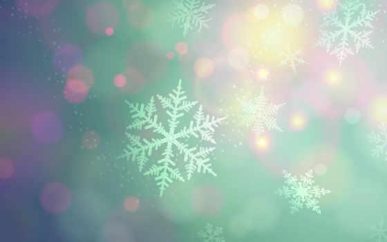 снежинки Фон № 96088 разрешение 2560x1600