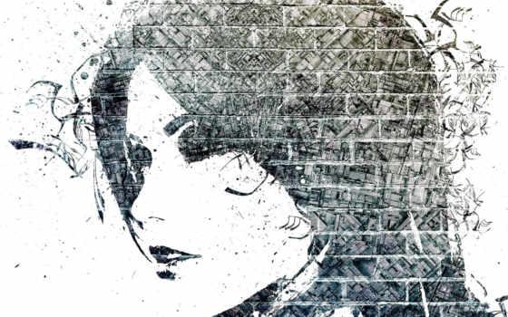 стена, креативные, brick, девушка, creativ, кирпичная, eti, креатив, великолепные,