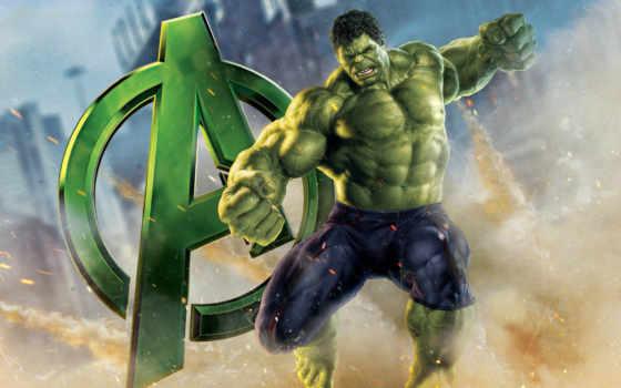 fondos, pantalla, hulk