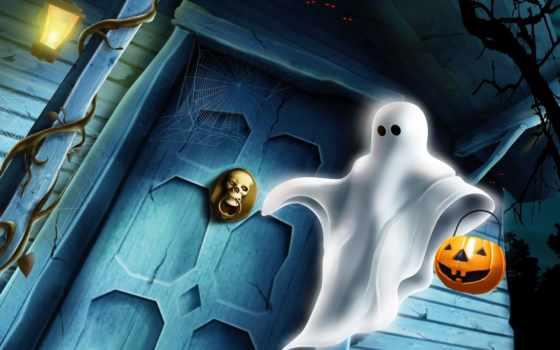 halloween, ghost, imagens