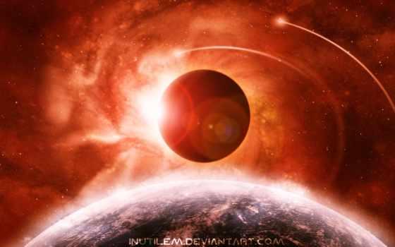 eclipse, солнечный, earth