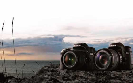 фотоаппарат, canon, tech, eos, объектив, digital,