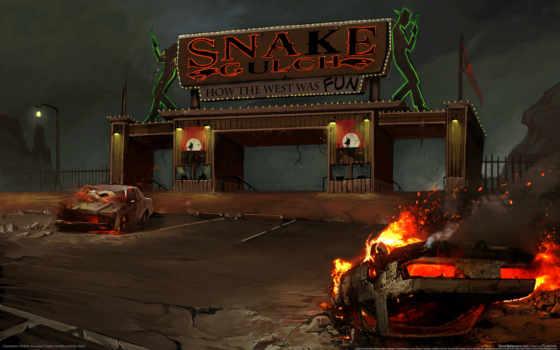 online, champions, gulch, snake, concept,