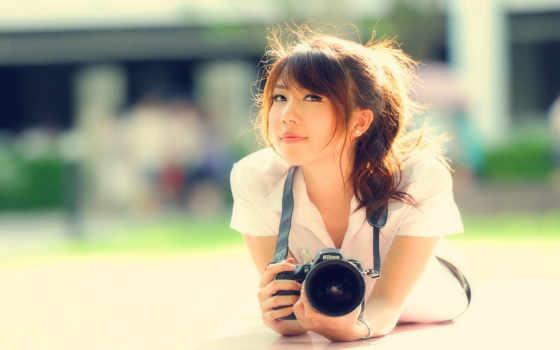 фотоаппарат, девушка, apk, off, рисунок, eyes, cameras, изображение,
